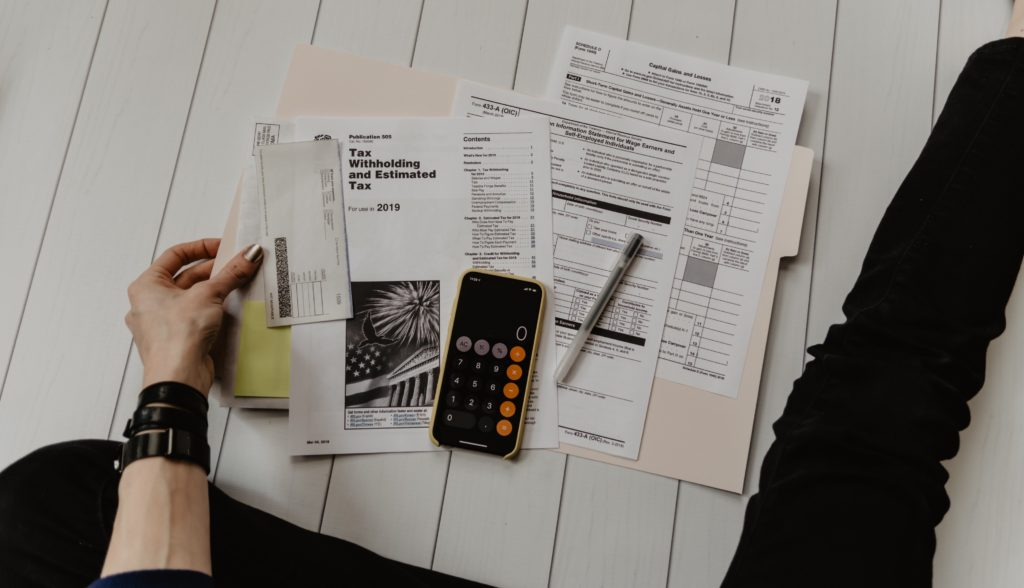 Tax documents image
